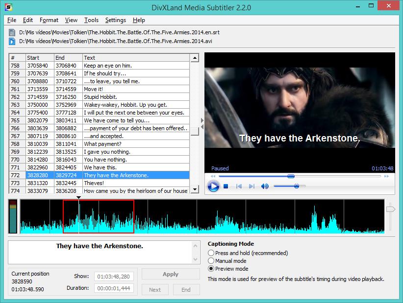 DivXLand Media Subtitler 2.2.1 full