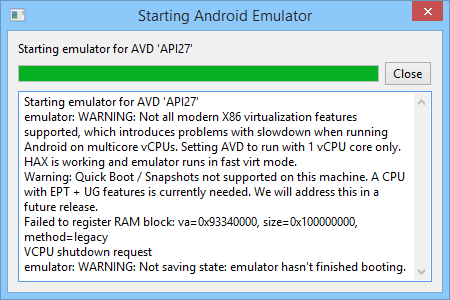 Using Android 8 and 9 emulators without Android Studio | Andrés Zsögön