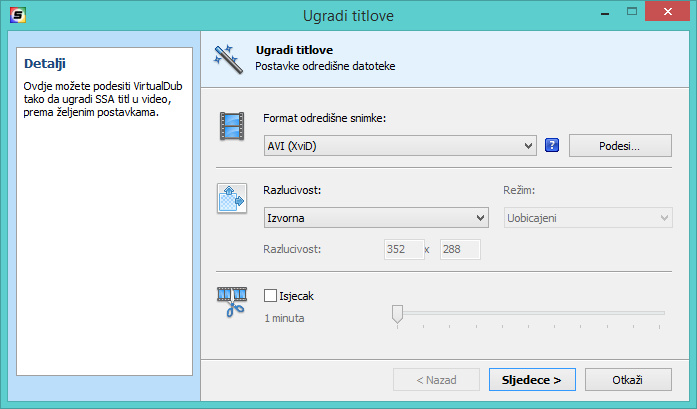 DivXLand Media Subtitler croatian