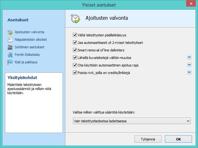 DivXLand Media Subtitler finnish