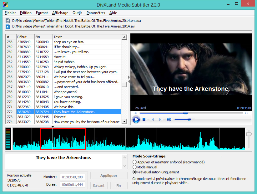 DivXLand Media Subtitler french