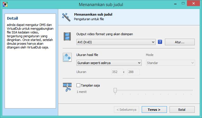 DivXLand Media Subtitler indonesian