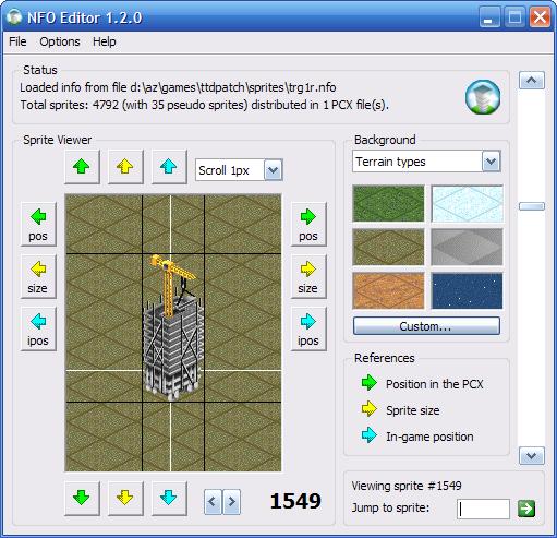 NFO Editor screenshot