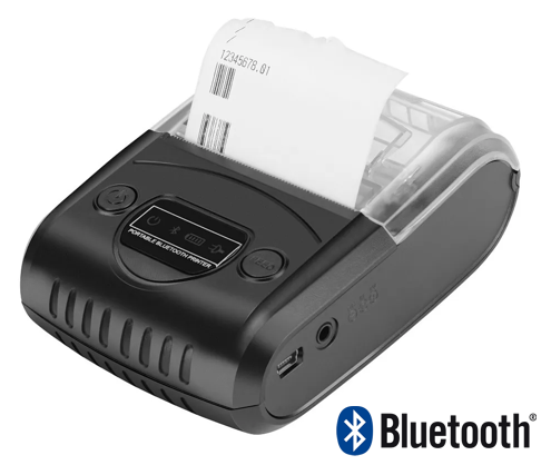 Portable thermal bluetooth printer