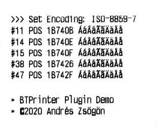 greek language cordova bluetooth printer plugin btprinter